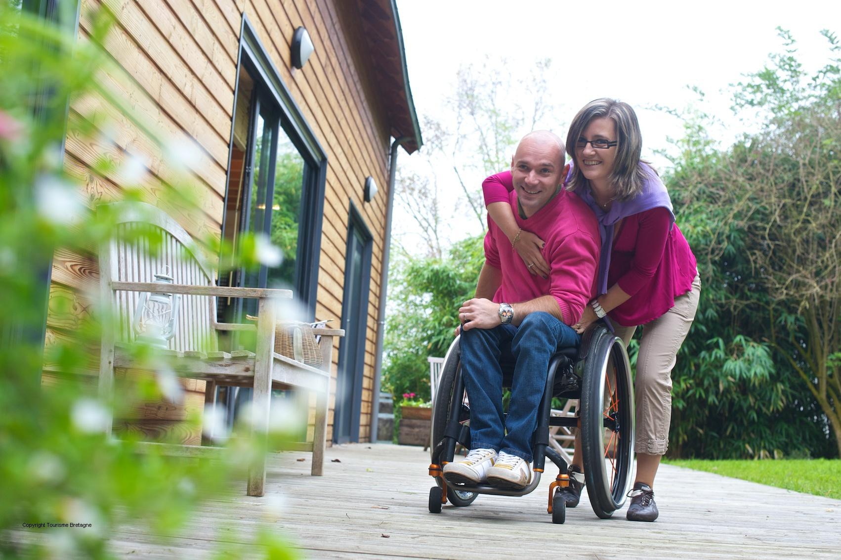 Un gite adapt votre handicap le pommier - Cabinet infirmier quimper ...